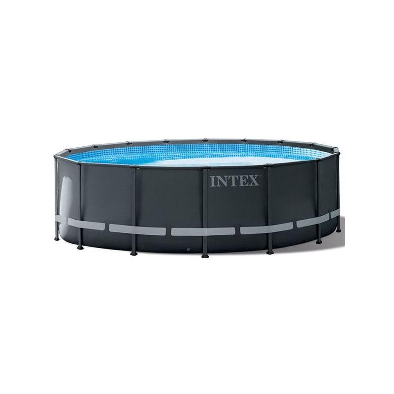 Piscine tubulaire Ultra Frame XTR - Ronde - 4,27 m x 1,22 m de Piscine tubulaire - Intex