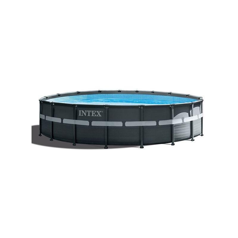 Piscine tubulaire Ultra Frame XTR - Ronde - 5,49 m x 1,32 m de Intex
