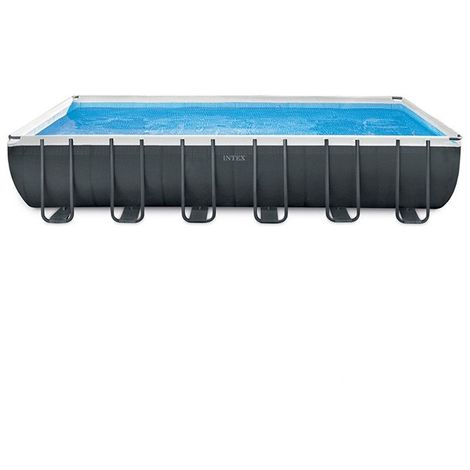 Piscine tubulaire Ultra XTR - Rectangulaire - 7,32 m x 3,66 m x 1,32 m de Intex - Piscine tubulaire