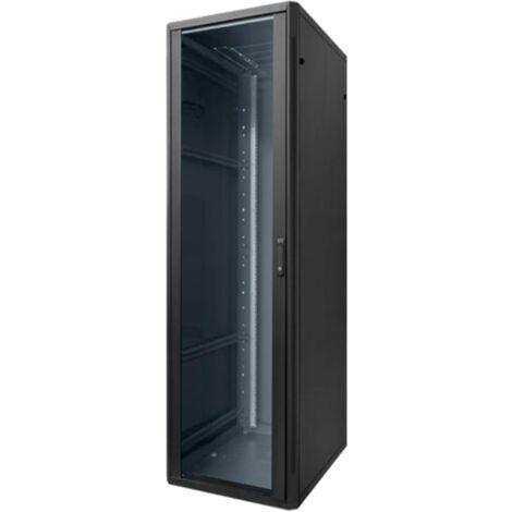 Piso armario Elemento Rack de 42 Unidad 600X800X1985 Negro 20163N