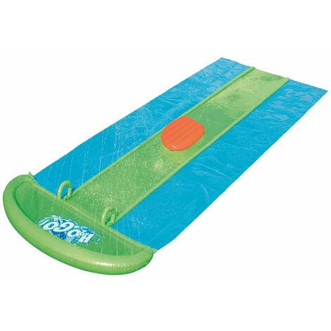 Pista Deslizante Hinchable Bestway H2O Go! Slime BlastTriple 549 cm - 52251 - BESTWAY