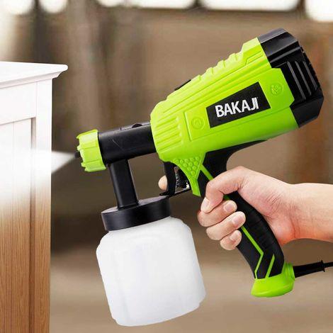 Pistola a Spruzzo Professionale per Verniciare 500W Compressore Pittura Casa
