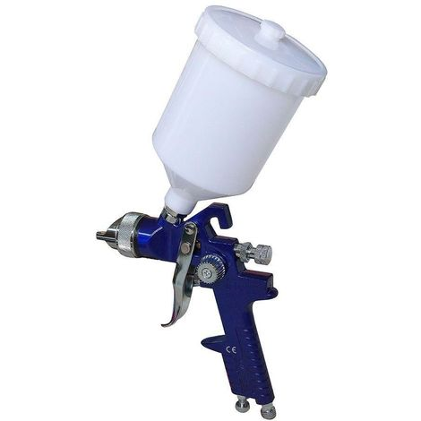 Pistola aerografo de aire comprimido 600cc h-827 para pintar
