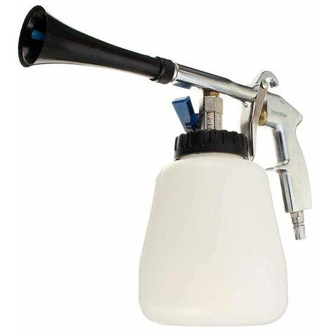 Pistola Aire Comprimido de Alta Presión Tipo Tornador para Limpieza de Interior/Exterior/Tapicería