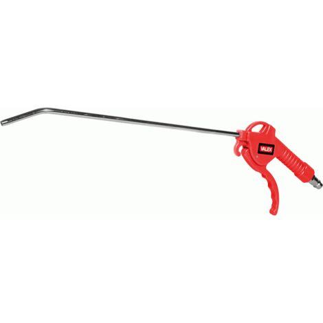 Pistola aria compressa lunga soffia compressore soffiaggio soffio valex 1551013