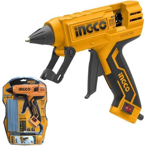 """main image of """"Pistola colla a caldo PRO 220 W 8 stick inclusi - Ingco GG308"""""""