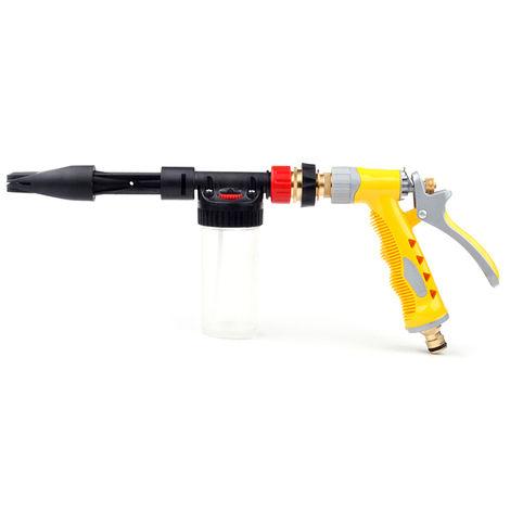 Pistola de lavado de espuma para automoviles, espuma de limpieza de agua a alta presion