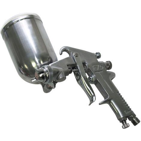 Pistola de pintar HVLP Rociadora Pulverizadora HS-75G Boquilla 1,5 mm Accesorios compresores