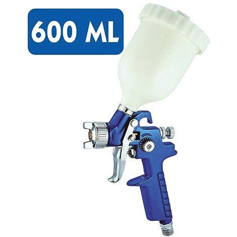 Pistola De Pintar Para Coche Pintura Compresor Aire 600 Ml - 1,7 Mm