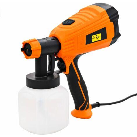 Pistola de pintura eléctrica con 3 tamaños boquilla 500W 800ml