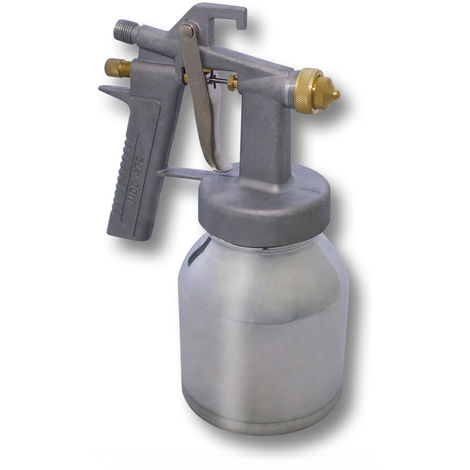Pistola de pintar lacar rociadora pulverizadora HS-472 con boquilla 0,8 mm