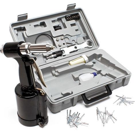 Pistola de remachado de aire comprimido 2,4 - 4,8mm herramienta de remachado juego de alicates de remachado neumático