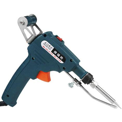 Pistola de soldadura de mano KKmoon de 60 W, herramienta de soldadura electrica de alambre de estano con calefaccion interna, facil operacion con una mano