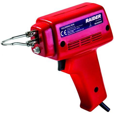 Pistola de Soldar Estaño 100W Eléctrica con Lámpara LED - Ligera y resistente - Soldador Estañador 600°C