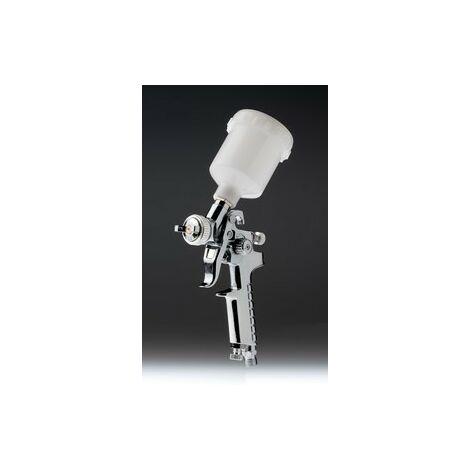 PISTOLA MINI RETOQUES 0.8mm HVLP | PLATA