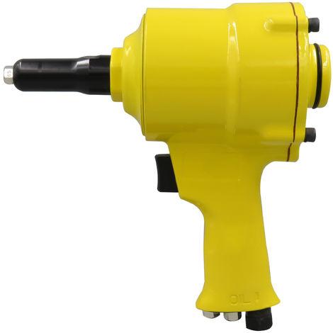 Pistola neumatica remachadora de aire tipo pistola de remache pop,amarilla