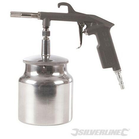 Pistola por succión para pinturas base (750 ml)