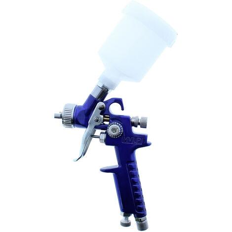 Pistola pulverizadora de pintura portátil HVLP 125 ml.
