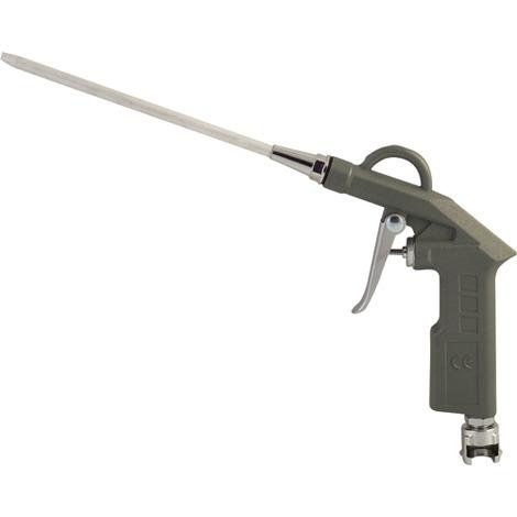 MAURER PISTOLA SOFFIATRICE CANNA LUNGA pistola gonfiaggio aria per compressore