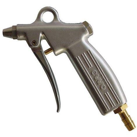 Pistola sopladora de aire (de fundición), dosificable con boquilla normal Conector de acoplamiento DN 7,2