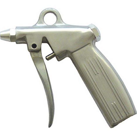 Pistola sopladora de aire (de fundición), dosificable con boquilla normal rosca interior G 1/4 pulgadas