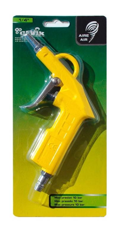 Accesorio De Neumatica Pistola de soplar boquilla corta Cevik CA-1150 Conexi/ón r/ápida Presi/ón de trabajo 4-7 Bar M/áxima: 10 bar