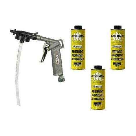 Pistolet à Blackson avec 3 cartouches anti corrosion insonorisant