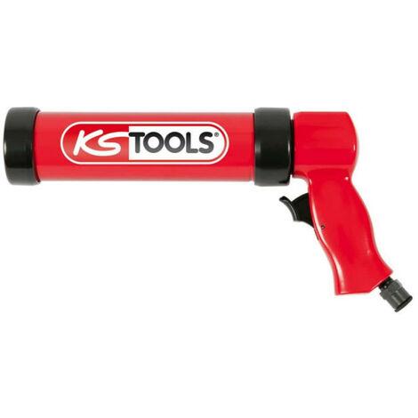 Pistolet à cartouche pneumatique KS TOOLS 310 ml - 515.3910