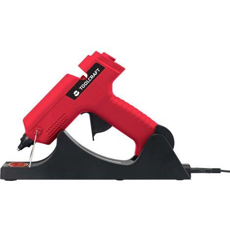 Pistolet à colle TOOLCRAFT 1553068 + accessoires 11 mm 500 W 1 pc(s)