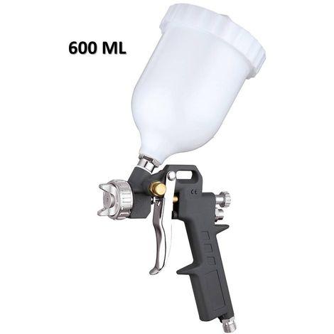 Pistolet à Peinture Pneumatique avec Remplissage 600ml Buse 1,5mm G