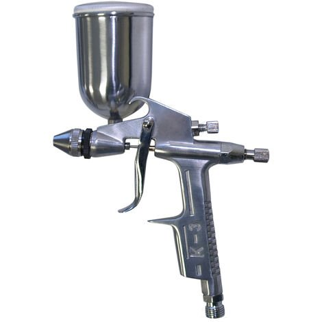 Pistolet à peinture professionnel HVLP HS-S2/K-3 0.5 mm / Buse de projection ronde / Filetage 1/4