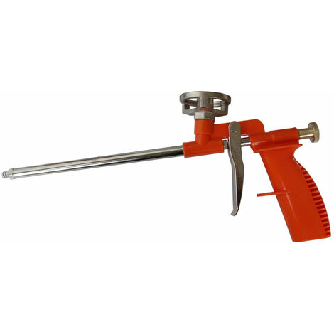 Pistolet applicateur de mousse polyuréthane PUR PU Expansive Acier inoxydable
