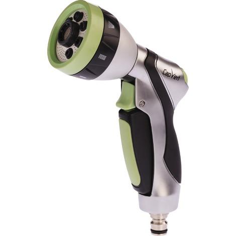 Pistolet d'arrosage à pomme aluminium et bi-matière Cap Vert