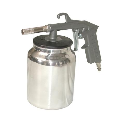 Pistolet de sablage à air comprimé avec godet Lacme