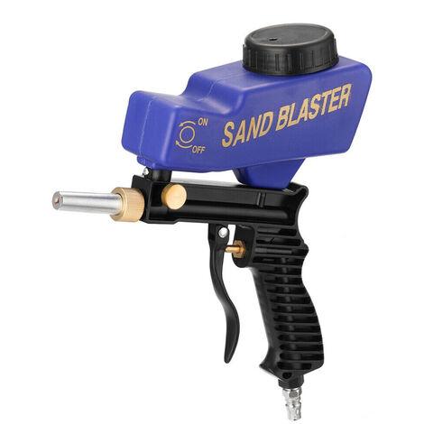 Pistolet de sablage à gravité portable ensemble de sablage pneumatique dispositif de sablage de rouille petite machine de sablage 600cc