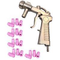 Pistolet de sablage pour Microbilleuse Cabine de Sablage + 20 Buses