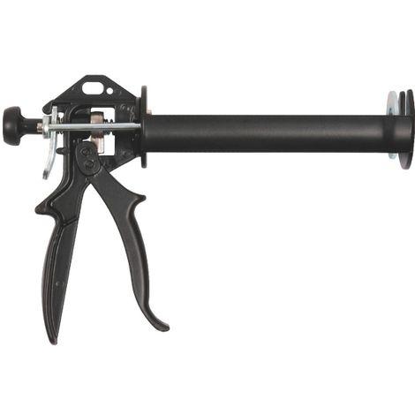 Avit AV12040 Pistolet /à cartouche pour mastic Rouge