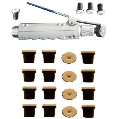 Pistolet gachette de sablage pour Sableuse mobile + 20 Buses Céramique (noires)