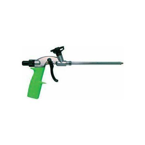 Pistolet pour mousse expansive pistolable - AZ 250 NEC PLUS - 345882 Ce pistolet sert à l'application précise et aisée de la mousse expansive PU pour une mise en uvre rapide. Après usage, nettoyer le pistolet avec le nettoyant NEC