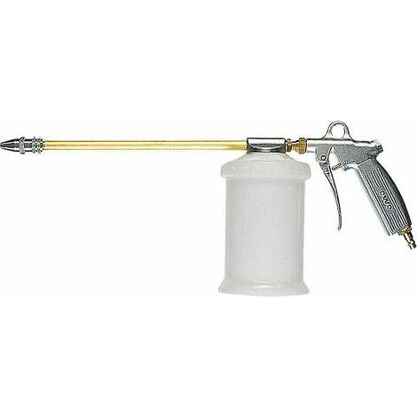 Pistolet pulverisateur avec gobelet en plasitque 0,7 l tube de pulverisation droit