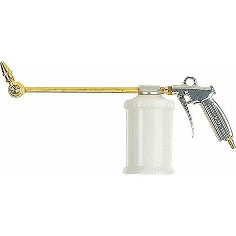 Pistolet pulverisateur avec gobelet en plasitque 0,7 l tube de pulverisation orientable