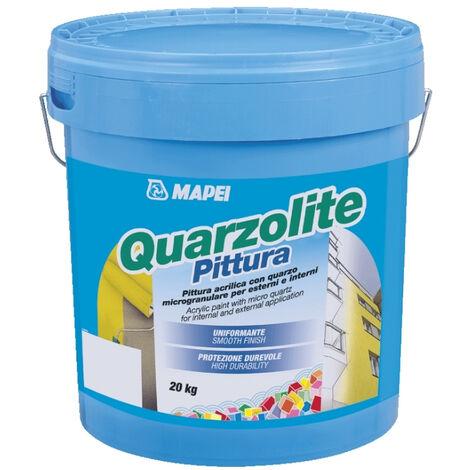 Pittura acrilica con quarzo 20kg Quarzolite Pittura Mapei ...