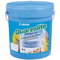 Pittura acrilica con quarzo 20kg Quarzolite Pittura Mapei