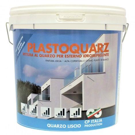 "main image of ""PITTURA AL QUARZO 'PLASTO QUARZ' DA LT. 5"""