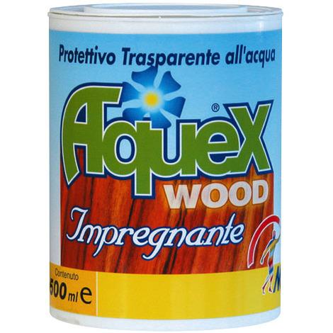 PITTURA FONDO RIEMPITIVA PER LEGNO AQUEX WOOD IMPREGNANTE LT 2,5 col. BIANCO