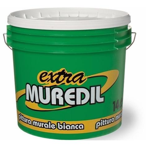 "main image of ""Pittura Murale Bianca Idropittura Traspirante Extra Muredil 14 Lt."""