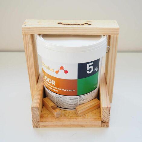 "main image of ""Pittura per Pavimenti Interni ed Esterni FLOOR Verde, 5Kg (4,15 L) · Vernice 100% NATURALE a base d"""