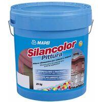 Pittura silossanica per esterni ed interni 20kg Silancolor Pittura Mapei