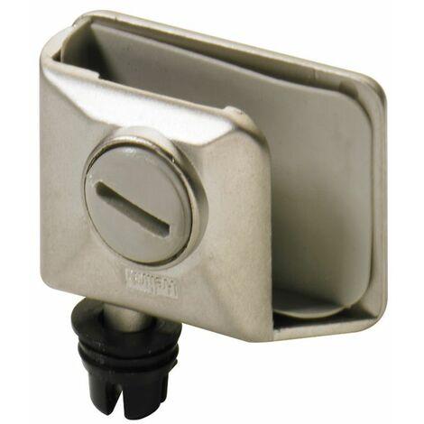 Pivot et 150 - Décor : Nickelé mat - Ouverture : 105° - Montage : Intérieur - HETTICH