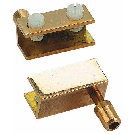 Pivot pour porte verre - Décor : Chromé - ITAR
